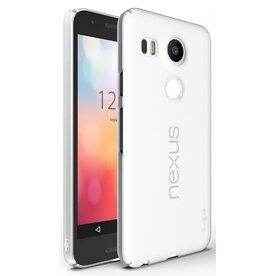 Husa Google Nexus 5X 2015 Ringke SLIM FROST ALB+BONUS folie protectie display Ringke