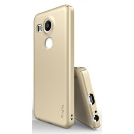 Husa Google Nexus 5X 2015 Ringke SLIM ROYAL GOLD+BONUS folie protectie display Ringke