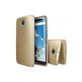 Husa Google Nexus 6 Ringke SLIM ROYAL GOLD+Bonus Ringke Invisible Screen Defender