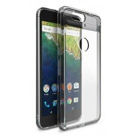 Husa Google Nexus 6P 2015 Ringke FUSION SMOKE BLACK + BONUS folie protectie display Ringke