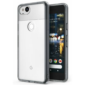 Husa Google Pixel 2 Ringke FUSION SMOKE BLACK