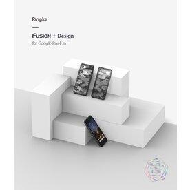 Husa Google Pixel 3a Ringke Fusion Design Transparent/Fumuriu