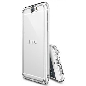 Husa HTC One A9 2016 Ringke FUSION CRYSTAL VIEW TRANSPARENT + BONUS folie protectie display