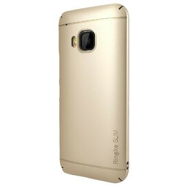 Husa HTC One M9 Ringke SLIM ROYAL GOLD + BONUS folie protectie display Ringke