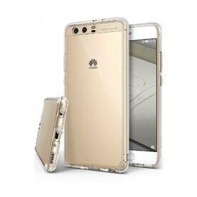 Husa Huawei P10 Ringke Fusion Clear + BONUS folie protectie display Ringke