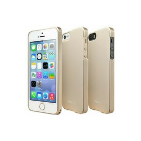 Husa iPhone 5/5s iPhone SE Ringke SLIM ROYAL GOLD+BONUS folie protectie display Ringke