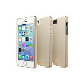 Husa iPhone 5/5s iPhone SE Ringke SLIM ROYAL GOLD+BONUS folie protectie display Ringke