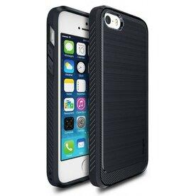 Husa iPhone 5/5s/SE Ringke ONYX MIDNIGHT NAVY + folie Ringke cadou