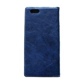 Husa iPhone 6 / 6s Arium Buffalo Flip  View albastru navy