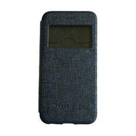 Husa iPhone 6 / 6s Arium French Bumper Flip View negru