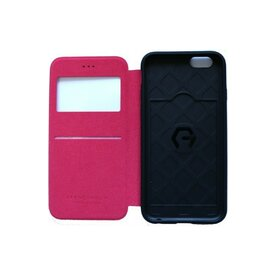 Husa iPhone 6 / 6s Arium French Bumper Flip View rosu