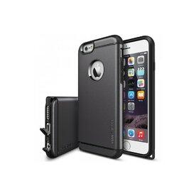 Husa iPhone 6 / 6s Ringke ARMOR MAX GUN METAL+BONUS folie protectie display Ringke