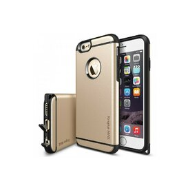 Husa iPhone 6 / 6s Ringke ARMOR MAX ROYAL GOLD+BONUS folie protectie display Ringke