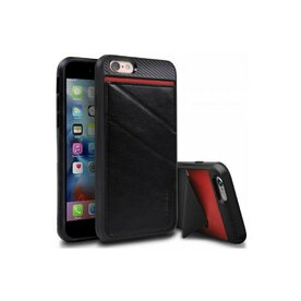 Husa iPhone 6/6s Ringke EDGE BLACK + BONUS folie protectie display
