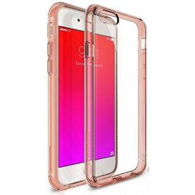 Husa iPhone 6 / iPhone 6s Ringke FUSION ROSE GOLD+BONUS folie protectie display Ringke