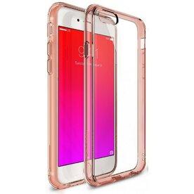 Husa iPhone 6 / iPhone 6s Ringke FUSION ROSE GOLD+BONUS folie protectie display Ringke
