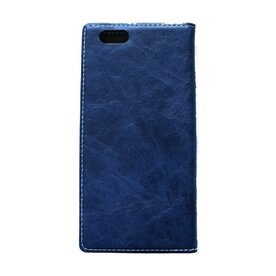 Husa iPhone 6 Plus / 6s Plus Arium Buffalo Flip  View albastru navy