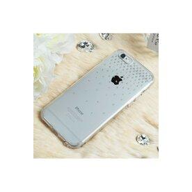 Husa iPhone 6 Plus / 6s Plus Ringke NOBLE SWAROVSKI SNOW FUSION CRYSTAL VIEW cu cristale premium SWAROVSKI