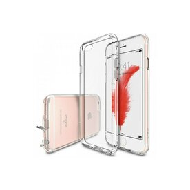 Husa iPhone 6 Plus / iPhone 6s Plus Ringke Air CRYSTAL VIEW TRANSPARENT + BONUS folie protectie display Ringke