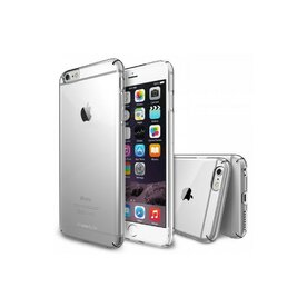 Husa iPhone 6 Plus Ringke SLIM CRYSTAL TRANSPARENT+BONUS Ringke Invisible Defender Screen Protector