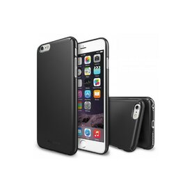 Husa iPhone 6 Plus Ringke SLIM GUN METAL+BONUS Ringke Invisible Defender Screen Protector
