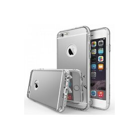 Husa iPhone 6 Ringke FUSION MIRROR SILVER + BONUS folie protectie display Ringke