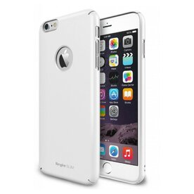 Husa iPhone 6 Ringke SLIM  ALB LOGO CUT+BONUS folie protectie display Ringke