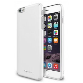 Husa iPhone 6 Ringke SLIM WHITE + BONUS folie protectie display Ringke