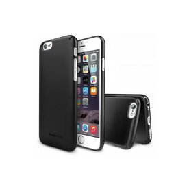 Husa iPhone 6s Ringke SLIM NEGRU+BONUS folie protectie display Ringke