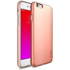 Husa iPhone 6s Ringke SLIM ROSE GOLD+BONUS Ringke Invisible Defender Screen Protector