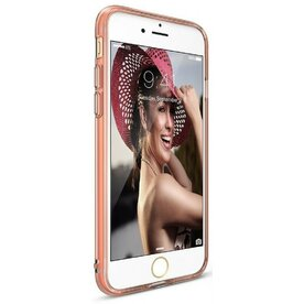 Husa iPhone 7 / iPhone 8 / iPhone SE 2 Ringke  AIR ROSE GOLD + BONUS folie protectie display Ringke