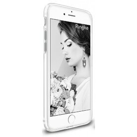 Husa iPhone 7 / iPhone 8  Ringke Slim FROST WHITE + BONUS folie protectie display Ringke