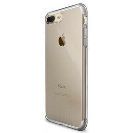Husa iPhone 7 Plus / iPhone 8 Plus Ringke AIR SMOKE BLACK + BONUS folie protectie display Ringke