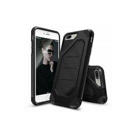 Husa iPhone 7 Plus / iPhone 8 Plus Ringke ARMOR MAX NEGRU + BONUS folie protectie display Ringke