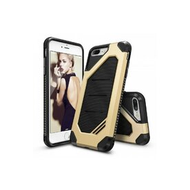 Husa iPhone 7 Plus / iPhone 8 Plus Ringke ARMOR MAX ROYAL GOLD + BONUS folie protectie display Ringke