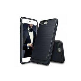 Husa iPhone 7 Plus / iPhone 8 Plus Ringke ONYX MIDNIGHT NAVY + BONUS folie protectie display Ringke