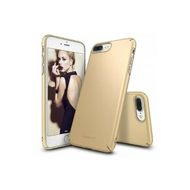 Husa iPhone 7 Plus / iPhone 8 Plus Ringke Slim ROYAL GOLD + BONUS folie protectie display Ringke