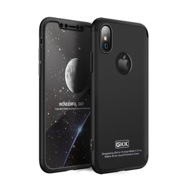 Husa iPhone X/Xs GKK 360 Logo Cut + folie protectie display