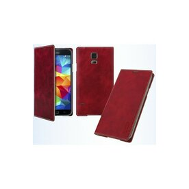 Husa LG G3 Arium Mustang Flip Book Battery Cover rosu