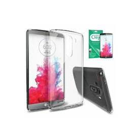 Husa LG G3 Ringke SLIM CRYSTAL TRANSPARENT+BONUS folie protectie display Ringke