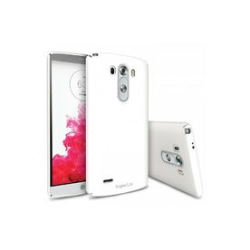 Husa LG G3 Ringke SLIM LF WHITE+BONUS folie protectie display Ringke