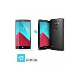 Husa LG G4 Ringke SLIM NEGRU SOFT + BONUS folie protectie display Ringke