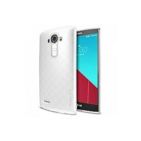 Husa LG G4 SLIM FROST ALB + BONUS folie protectie display Ringke