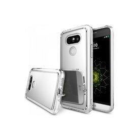 Husa LG G5 Ringke FUSION MIRROR SILVER + folie Ringke cadou