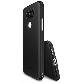 Husa LG G5 Ringke SLIM BLACK + BONUS folie protectie display Ringke