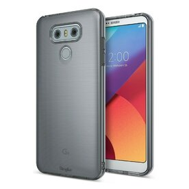 Husa LG G6 Ringke Air Smoke Black