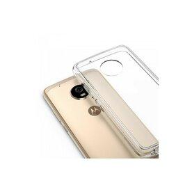Husa Motorola Moto G5 Plus 2017 Ringke Fusion Clear + BONUS folie protectie display Ringke