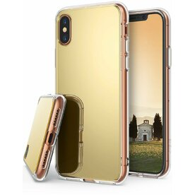 Husa Ringke iPhone X Mirror Royal Gold