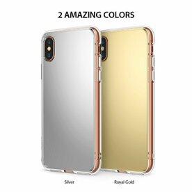 Husa Ringke iPhone X Mirror Silver