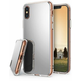 Husa Ringke iPhone X Mirror Silver